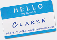 Hello my name is Clarke